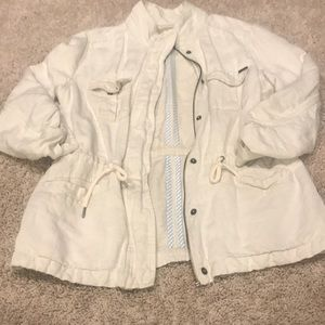 Max Jeans Tan cargo/utility jacket